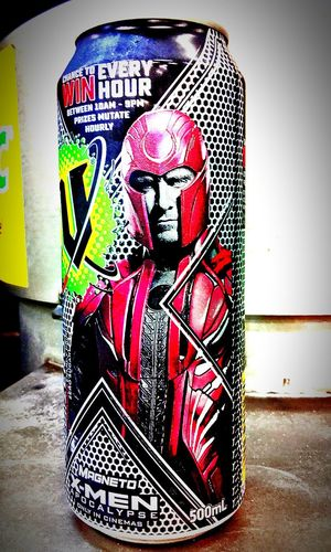 Human Representation Energydrinkcan Check This Out Human Representation Xmen Magneto Energy Drink Drink Can Aluminium Cans Energydrinks Energydrink Energy Drinks Cans Drinkcans EnergyDrinkCans V Energy Drink V X-men Apocalypse Aluminiumcans Xmenapocalypse X Men X-men Apocalypse Xmencollection Aluminum Can MagnetoMan Magneto Man Aluminiumcan Aluminium Can Male Likeness