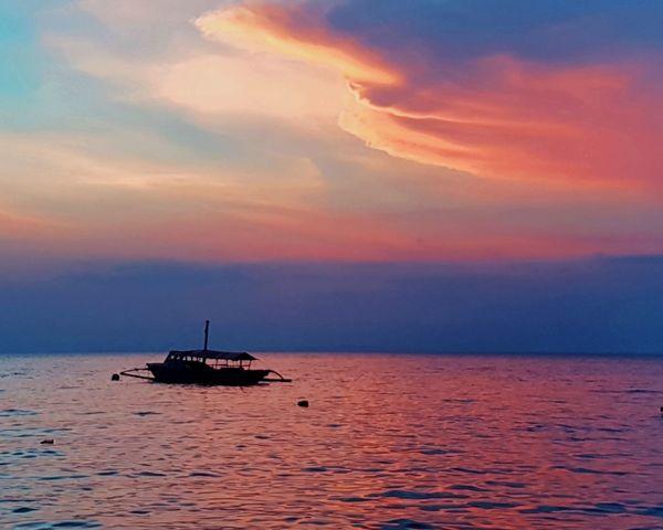 Cloud - Sky Beauty In Nature Sunset Beach Sun