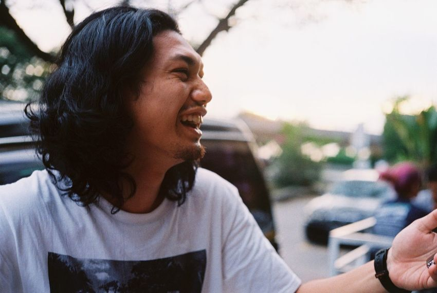 Chef Qayyum Candid Close-up Daytime Film Filmphotography Kodak Konica Rangefinder Streetphotography