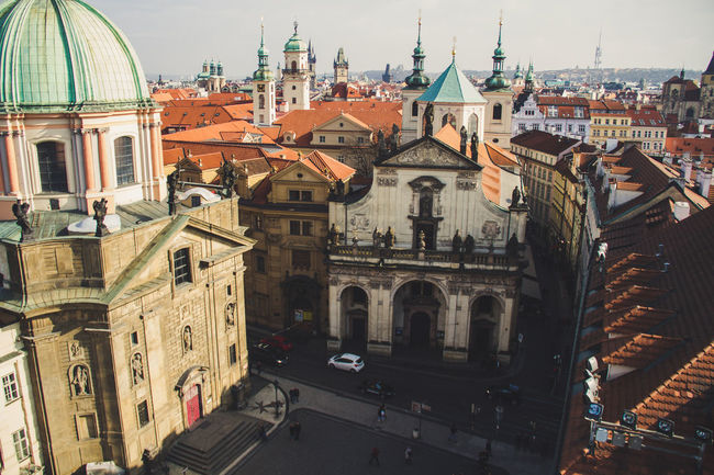 Prague Praha Architecture Building Exterior Built Structure City Cityscape Day Dome No People Outdoors Place Of Worship Religion Sky Spirituality Travel Destinations