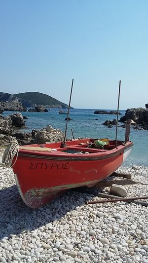 Limni Beach Korfu Greek Island Sea Water