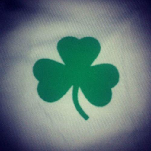 Green BostonCeltics Clover Justhoot