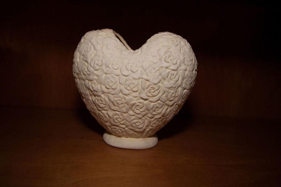 Vase Brown Close-up Heart Shape Indoors  Love No People Shelves