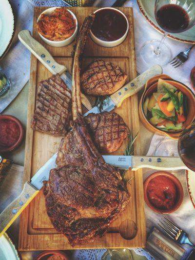 Steaks Steakhouse Steak Dinner Eating Steak Tomahawk Tomahawksteak Tomahawk Steak Grill BBQ Meat! Meat! Meat! Meat Lover Meat Love Food Porn Foodporn Foodphotography Food Porn Awards Fleisch Fleischeslust Yummy Yummie Yummy Food Steaksauce Filet Entrecote IPhoneography