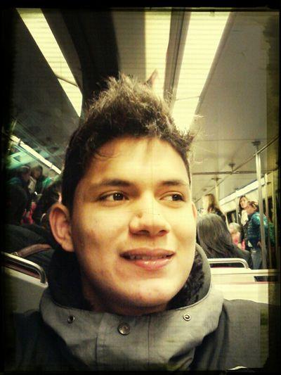 Metro. On My Way To The Iceskatin Ring.