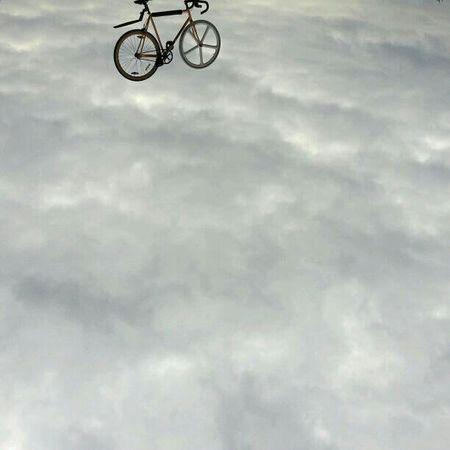 Bike Clouds And Sky Cloudporn Skyporn Fixie Mercier Aerospoke Skypocalypse Dropbars Bike Life Kilo Tt