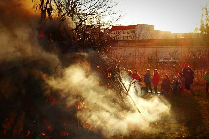 Happy Eastern! Easter Fire Open Edit Bonfire Sunset My Fuckin Berlin The Moment - 2015 EyeEm Awards