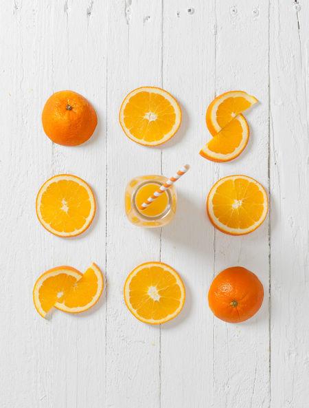 Orange juice with orange slices Arrangement Citrus Fruit Close-up Cross Section Day Drink Food Food And Drink Freshness Fruit Halved Healthy Eating Indoors  No People Orange - Fruit Orange Color Orange Juice  SLICE Sour Taste Vitamin Vitamin C