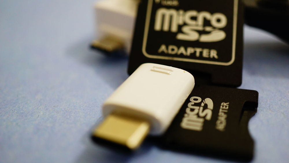 Selective Focus Technology Close-up Usb Drive Maximum Closeness Usb Memory Micro SD Hardware