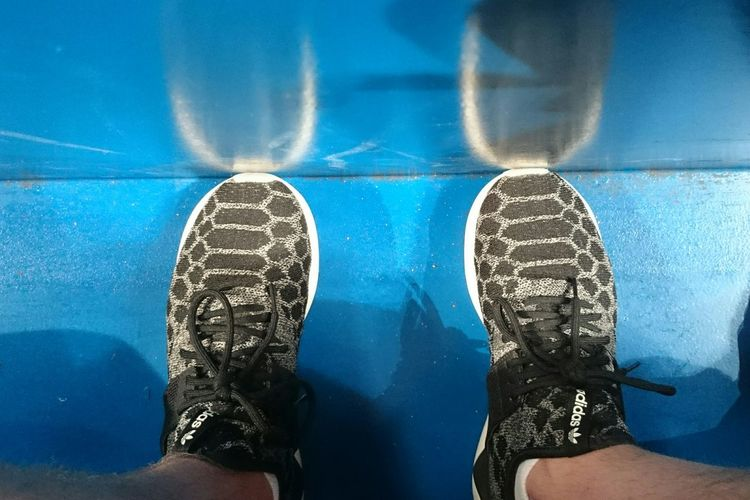 Sneaker magic adidas tubular Sneakers Blue