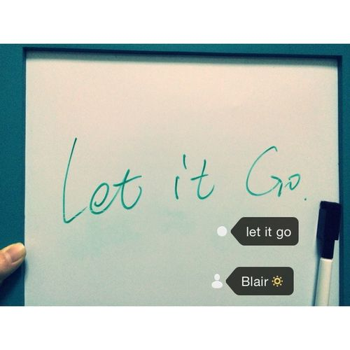 Let It Go ❤ Everything Will Be Okay🔆