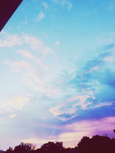 when the sky is like a cotton candy ... First Eyeem Photo