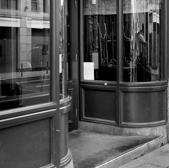 A photography without time Shopwindow Berlin Mitte Absence Architecture Building City Glasses Reflections Old Buildings Oldshophouse