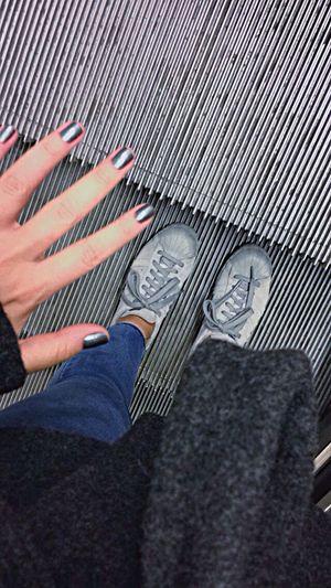 Fifty Shades Of Grey Adidasoriginals Adidas Grey Metalic Stairs Nailpolish Composition