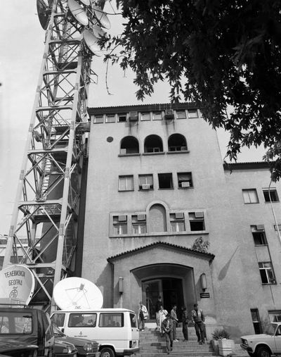 Belgrade Serbia Srbija Beograd Radio Station Radio Tower