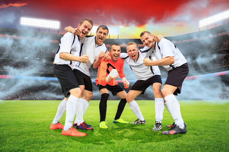 scenes from a soccer or football game with male player Soccer, Activity, Adults, Ball, Championship, Club, Competition, Competitive, European, Field, Fit, Foot, Football, Game, Goal, Grass, League, Man, Person, Player, Scoring, Shooting, Sports Sport Soccer Football Game Competition Males  Ball Stadium