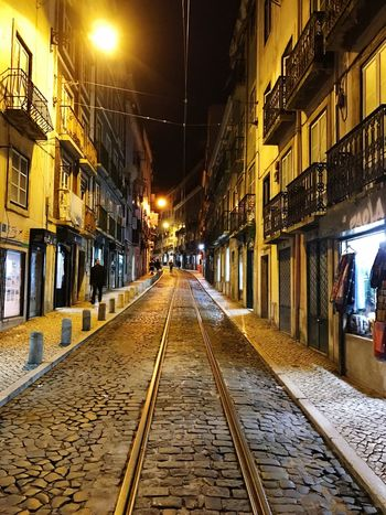 Building Exterior Architecture Illuminated Built Structure Night City Outdoors Residential Building No People Sky Traveling Day Scenics Tranquil Scene Vacations Travel Destinations Backpacking Portugal