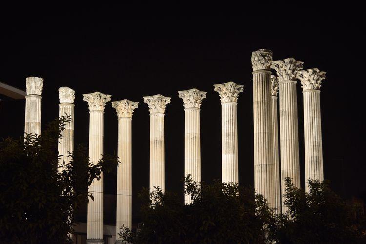 XI Córdoba Roman Ruins Night Photography