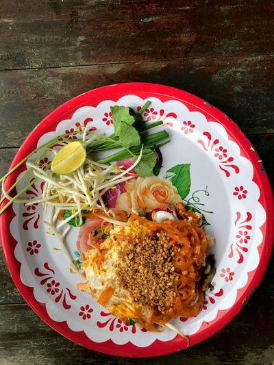 Phad Thai Seafood Delicious Thailand Thaifood Phad Thai Freshness Ready-to-eat Healthy Eating No People