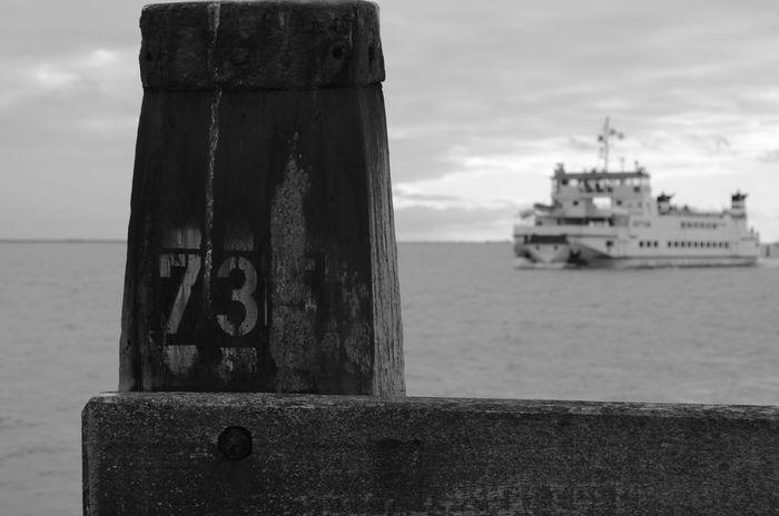 Veerboot Schiermonnikoog Sea Schiermonnikoog Wadden Sea