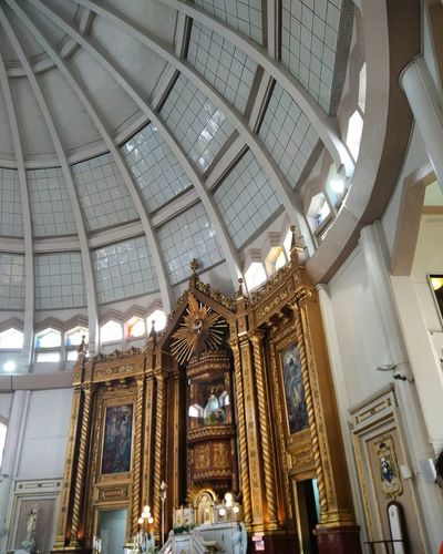 Our Lady Of Peace And Good Voyage Antipolo Cathedral AntipoloCathedral AntipoloCity Antipolo Philippines Wheninantipolo Church Ceiling Lights Ceiling Design Cellphone Photography Solemnity GodblessUs Architecture Place Of Worship Sculpture Spirituality Day Built Structure Religion