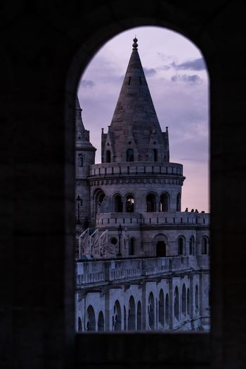 Final bastion Fisherman's Bastion Hungary Budapest Built Structure Architecture Building Exterior Arch Building Sky History Cloud - Sky Travel Destinations Tower Travel
