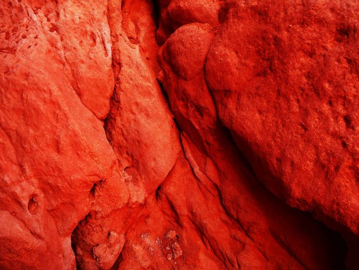 Full Frame Backgrounds Red Rock No People Close-up Textured  Rock - Object Solid Pattern Rough Nature Extreme Close-up Rock Formation Indoors  Day Geology Abstract Mineral Eroded