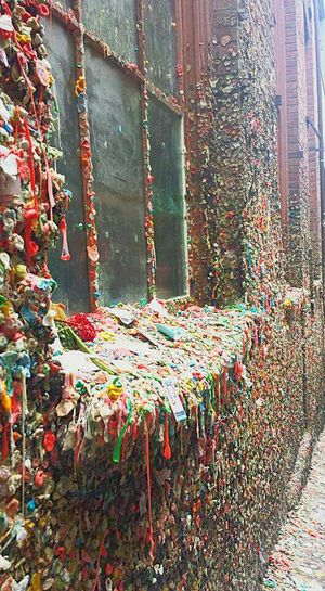 Gum Wall SeattleLife Seattle Travel Travel Photography Seattle, Washington Traveling Streetphotography Urban Gum Gross Famous Strange Photo