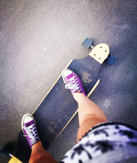 Using longboarding as a recovery and pain management technic, coolest physiotherapist 😍 Longboarding Girl Pain Management Love It