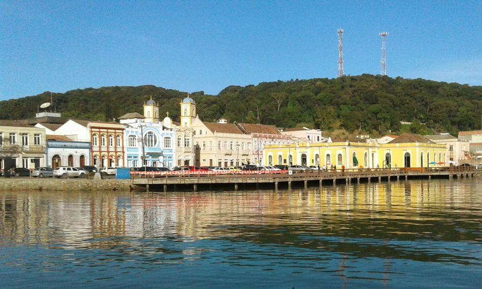 Historical Building Tranquility Historical City Santa Catarina, Brazil Sao Francisco Do Sul, SC