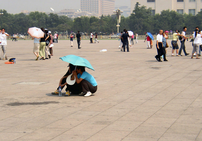 China City City Life Large Group Of People Outdoors Peking  People Real People Tian'anmen Square Travel Travel Destinations Travel Photography Travelphotography 天安門廣場 BEIJING北京CHINA中国BEAUTY Beijing