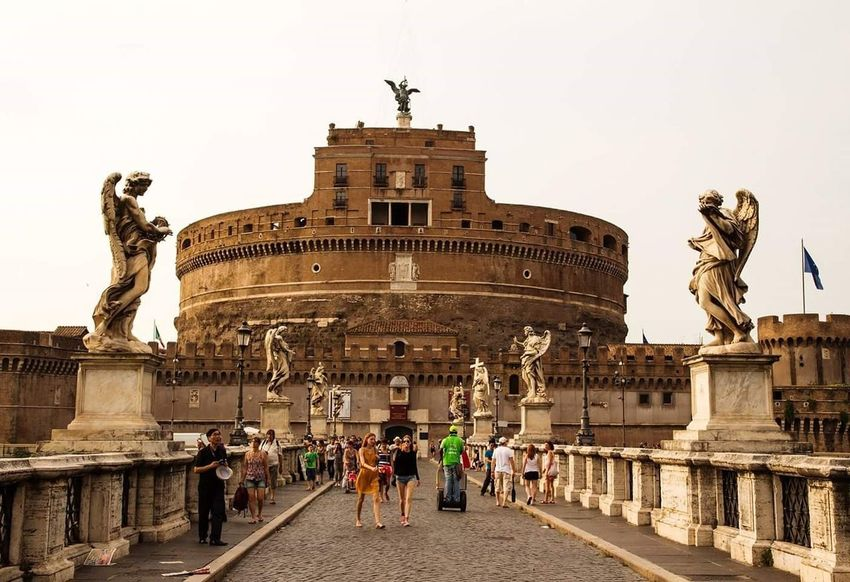 Architecture Travel History City Rome Italy🇮🇹 Castle Sant'angelo