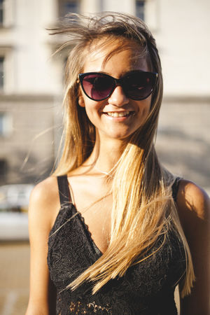 Attractive Female Beautiful Sunny Attractive Woman Beautiful Woman Caucasian Day One Person Outdoors Potrait Real People Single Woman Sunglasses White Young Woman