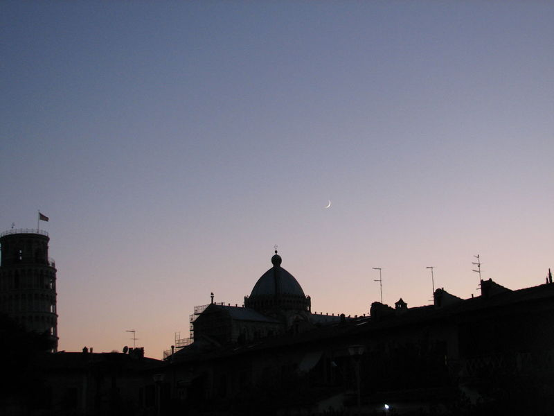 Holiday Italy Learn & Shoot : After Dark Pisa Pisa Tower Sky Sunset