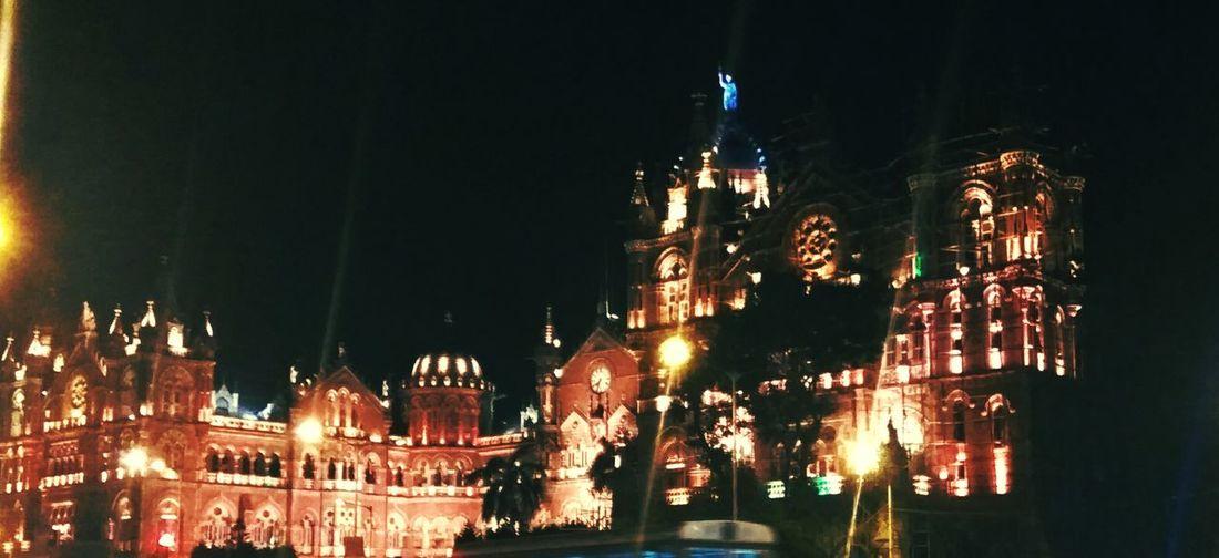 Travel Destinations Illuminated City