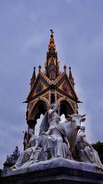 海德公园 Architecture Sky Sculpture Low Angle View Art And Craft Built Structure Statue