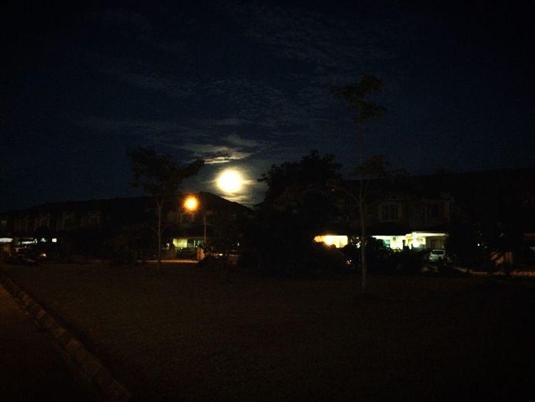 The super moon Night