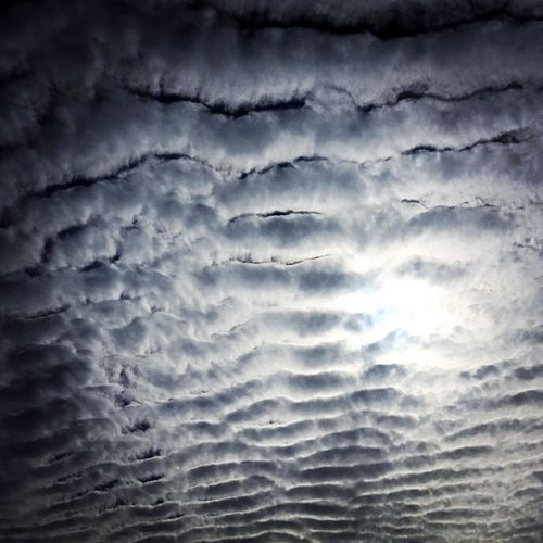 SkyWave Skywaves Skyripples SkyscapeBackgrounds Cloudscape Beauty In Nature Tranquility Nature Skydrama Low Angle View
