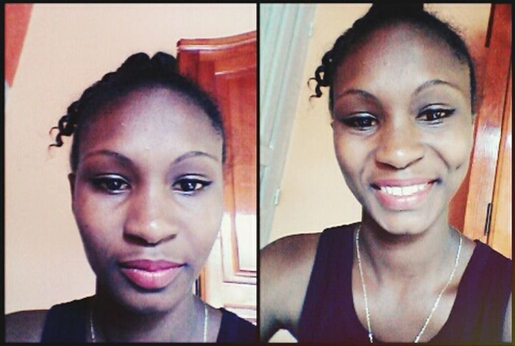 Simple And Serious Maquillaje Ans Smile Kingsley Queen👑 2015  Cheese! That's Me