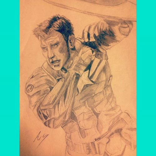 """""""The price of freedom is high but thats a price im willing to take"""" Marvel Sketch ArtWork Art Pencil GeekyAlexxArt Captainamerica Steverodgers Thewintersoldier Chrisevans"""