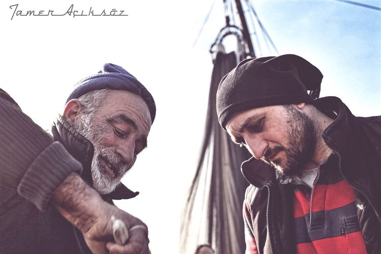 İlk fotonun günahı olmaz. Beard Two People Portrait Real People Day First Eyeem Photo