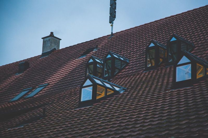 Building Exterior Architecture Low Angle View Built Structure Roof Outdoors Window Sky