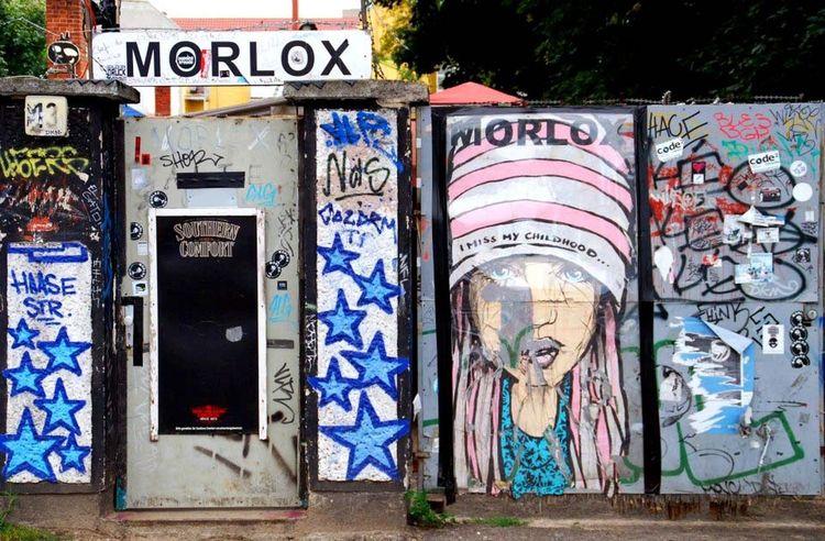 Berlin Graffiti Morlox