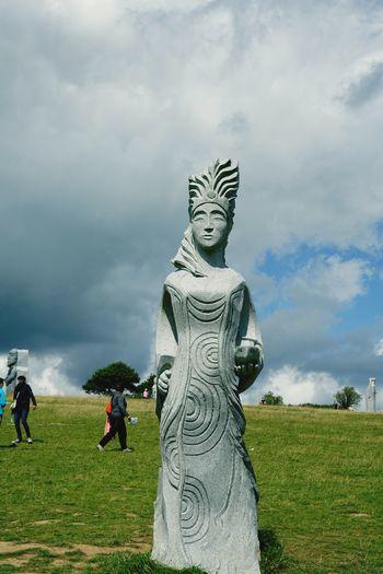 La Vallée Des Saints Sculpture