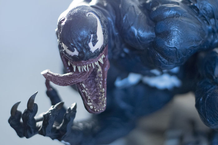 Sideshowcollectibles Spiderman Toyphotography Venom First Eyeem Photo