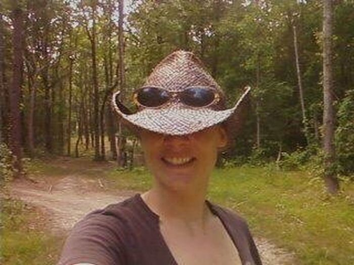 When you're walking through the woods down some trails and feel like a Selfie Type of Moment coming on so you stop and bust out with the pose Forest Young Adult Headshot One Person Tree Adults Only Smiling Looking At Camera Portrait WoodLand People Crown Happiness Adult Front View Outdoors Real People Day Close-up One Young Woman Only