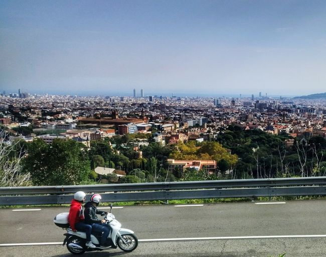 Motorcycle Mode Of Transport Cityscape Adult Transportation Barcelona Second Acts Be. Ready. #urbanana: The Urban Playground It's About The Journey EyeEmNewHere