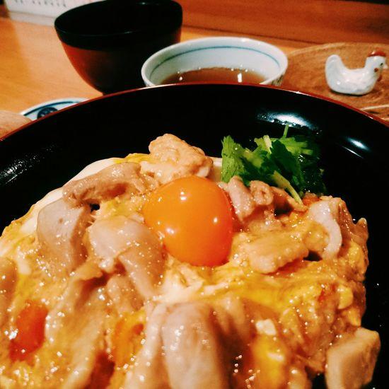 🐔🐔🐔 Eating Japenese Food 親子丼