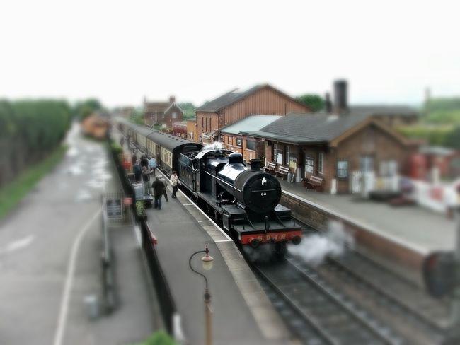 Transportation Summer Memories 🌄 Taking Photos North Somerset Railway Uk Steam Engine Station Platform