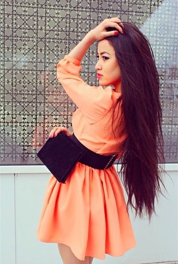 Fashion Streetphotography Street Fashion Longhair Hair Dress Hello World Enjoying Life Holidays Asian